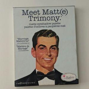 The Balm Meet Matt(e) Trimony
